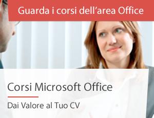 Corsi Office a Roma