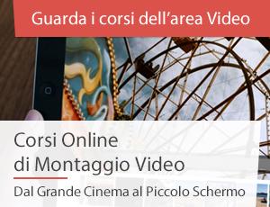 Corsi Montaggio Video Online
